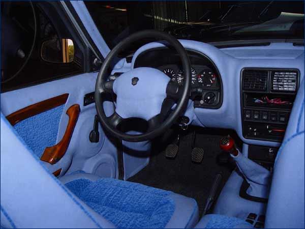 Тюнинг ГАЗ 3110: обивка салона