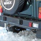 Мощный оплот или усиленный задний бампер УАЗ Хантер.