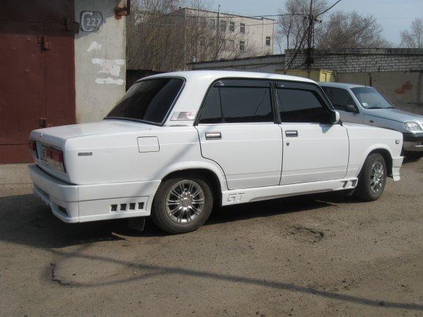 Тюнинг фото ВАЗ 2107