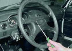 Как заменить рулевое колесо на ВАЗ 2106.