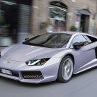 Премьера Женевского автосалона - Lamborghini Aventador