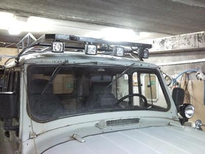 Багажник на уаз хантер своими руками