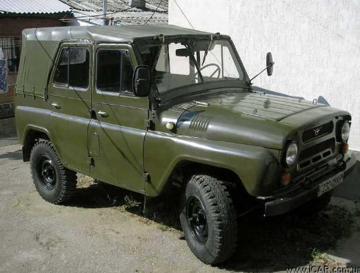 УАЗ 469 как донор для тюнинга.