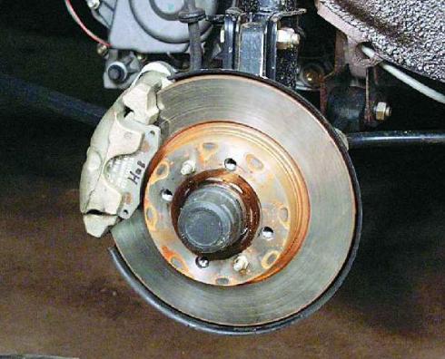 Тюнингуем тормоза ВАЗ 2109.