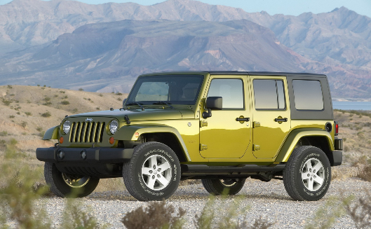 Электрический внедорожник Jeep уже на старте.