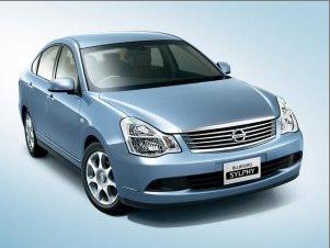 Nissan Bluebird уже на старте производства АвтоВАЗом.