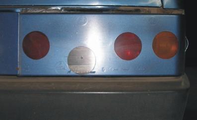 Тюнинг задних фонарей автомобиля ВАЗ 2109.
