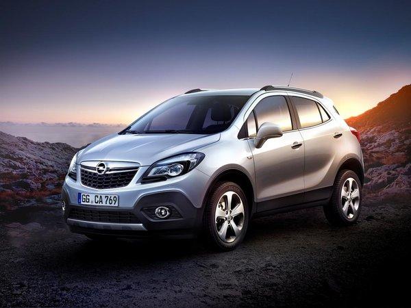 Кроссовер Opel Mokka на дорогах России